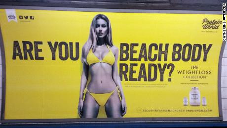 This controversial 2015 ad prompted reviews of how genders are portrayed in British ads.