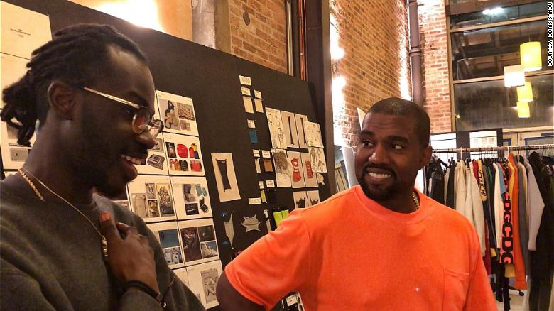 Sandu said he worked with Kanye West on creating tech experiences around the rapper's latest album.