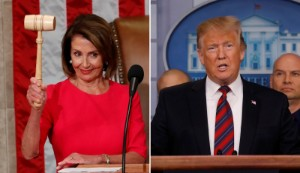 Donald Trump is less popular than Nancy Pelosi for the first time during his presidency
