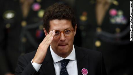 Ricardo Salles, Brazil's new environment minister, on December 10, 2018.