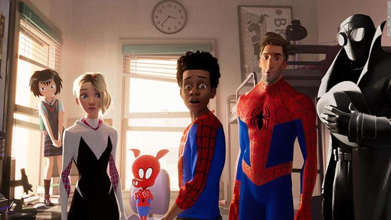 """<strong>Best animated feature film:</strong> """"Spider-Man: Into the Spider-Verse"""""""