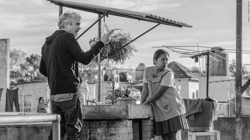 """<strong>Best director:</strong> Alfonso Cuaron, """"Roma"""""""
