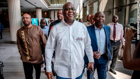 Felix Tshisekedi was named the winner of the Congo's presidential election.