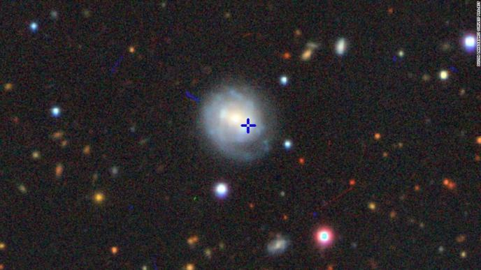 A mysterious bright object in the sky, dubbed
