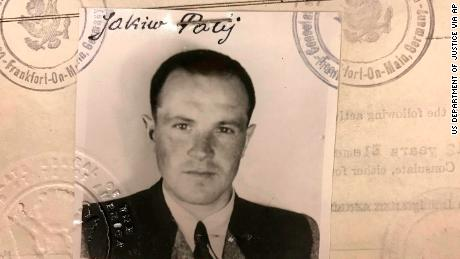 A US visa photo of Jakiw Palij, dated to 1949