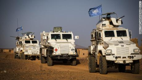 Ten UN peacekeepers killed in attack in Mali