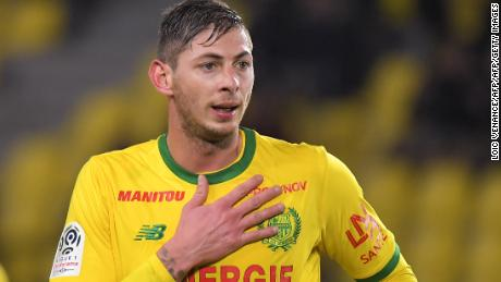 Sala had just joined Cardiff City from French club Nantes.