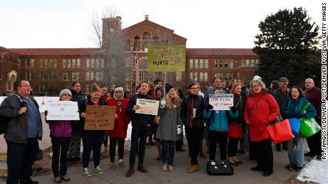 Denver teachers vote to strike for first time in 25 years