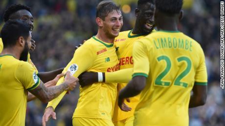 Sala had scored 12 goals for Nantes this season.