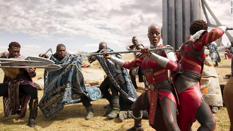 """<strong>Best production design:</strong> """"Black Panther"""""""