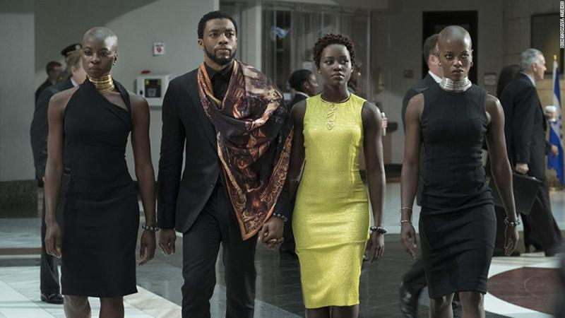 "<strong>Best costume design:</strong> ""Black Panther"""