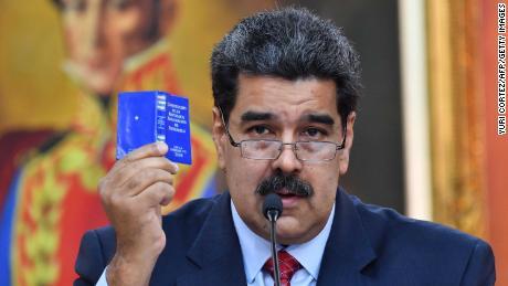 Venezuelan President Nicolas Maduro has refused to bow to international pressure to step down.