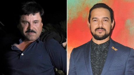 'Narcos' actor who plays El Chapo went to court to see the man himself