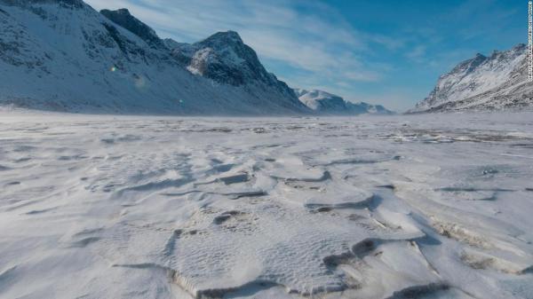canadian arctic glacial melt landscapes