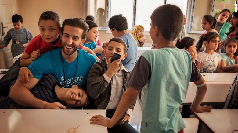 After Syria's civil war broke out, Anthony Brahimsha traveled to refugee camps where he saw firsthand the severity of malnutrition among children.