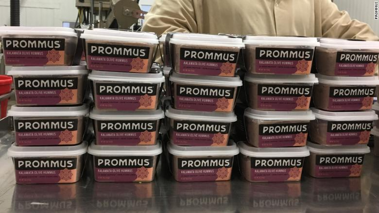 Brahimsha launched his Prommus in 2016. The hummus is based on his Syrian grandmother's recipe.