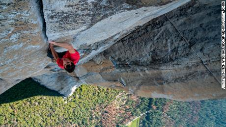 Honnold was able to enjoy the final stretch of the climb.