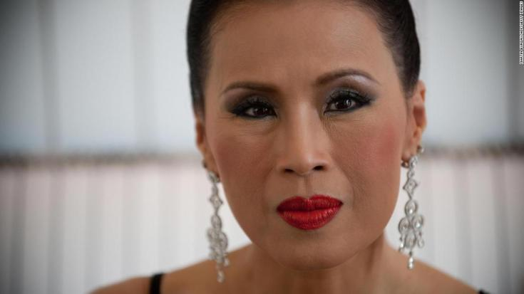 Princess Ubolratana of Thailand poses on May 18, 2009 during the 62nd Cannes Film Festival. AFP PHOTO / MARTIN BUREAU (Photo credit should read MARTIN BUREAU/AFP/Getty Images)