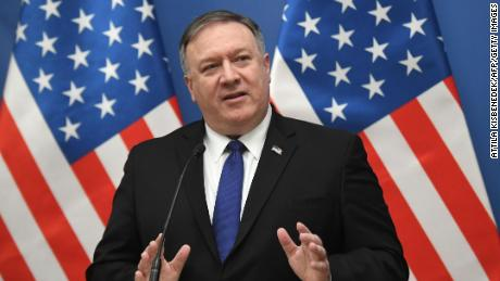Pompeo says military action in Venezuela 'possible'