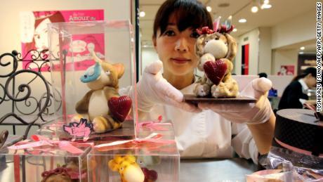 Japanese chocolatier Miya Fujimoto.