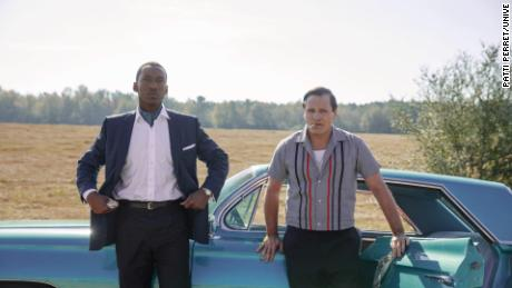 Mahershala Ali and Viggo Mortensen in 'Green Book'