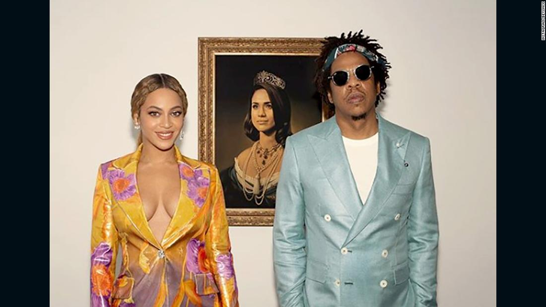 the brit awards beyonce and jay z pay