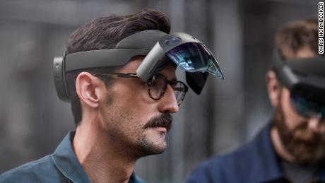 Microsoft today announced a new version of the Hololens AR headset at the Mobile World Congress in Barcelona.
