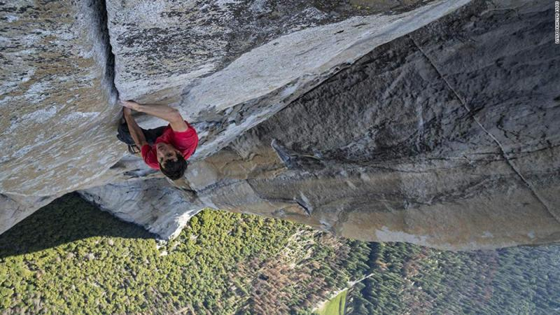 "<strong>Best documentary — feature:</strong> ""Free Solo"""