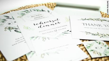 wedding invitations thank you