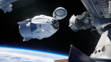 SpaceX Crew Dragon, built to carry humans, returns home from ISS