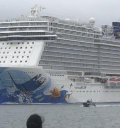 several passengers hurt as cruise ship tilts when hit by sudden 115 mph gust [ 1600 x 900 Pixel ]