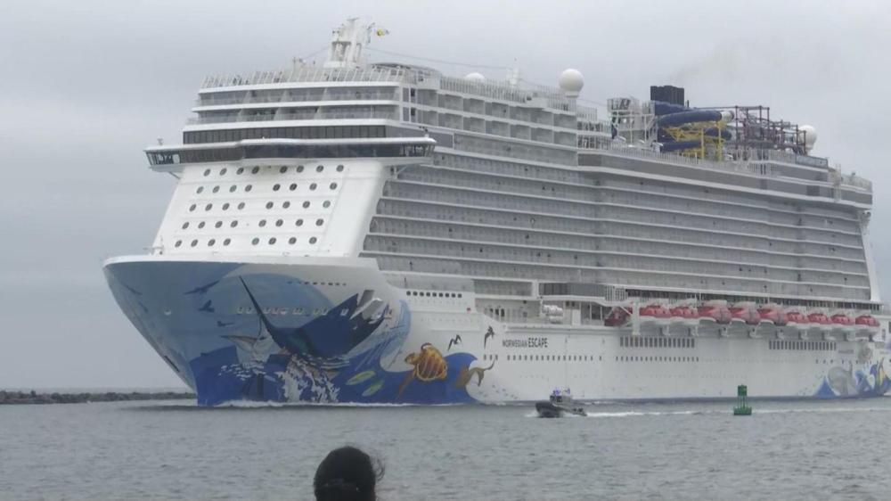 medium resolution of several passengers hurt as cruise ship tilts when hit by sudden 115 mph gust
