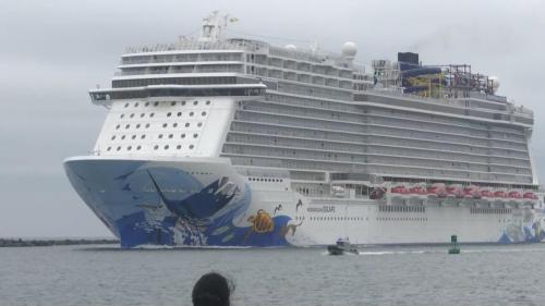 small resolution of several passengers hurt as cruise ship tilts when hit by sudden 115 mph gust