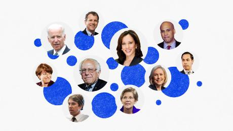 Here are the 17 Democrats who are running for president