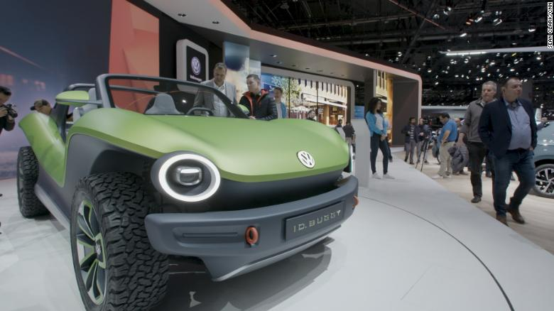 Vw Is Creating An Electric Future This Is What It Looks Like Cnn