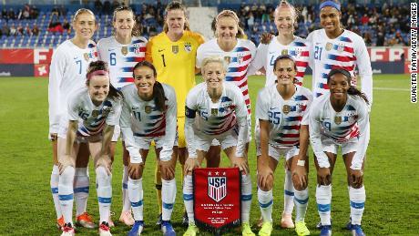 US women's soccer team members sue US Soccer for gender discrimination