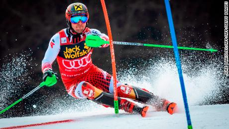 Marcel Hirscher wins his eighth overall World Cup title.