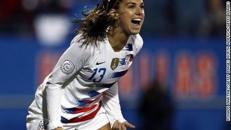 US Soccer stars 'confident' of winning gender discrimination lawsuit