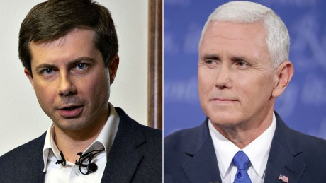 Pete Buttigieg is the human rebuttal to everything Mike Pence stands for