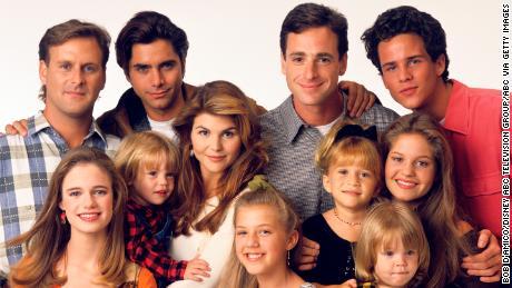 Die Besetzung von & # 39; Full House & # 39; im Jahr 1993