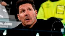 Diego Simeone, Argentine coach of Atletico Madrid.