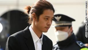 成長している韓国のセックススキャンダルで名前を挙げられたK  - ポップスター