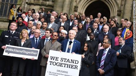 The Church of England's Diocese of Manchester stands with New Zealand's mosque attack victims.