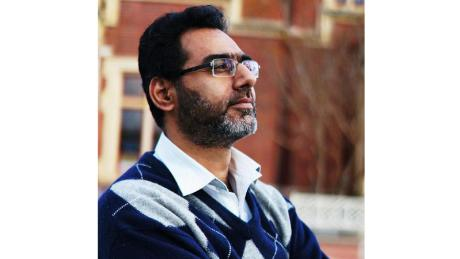 Naeem Rashid, 50, was killed, along with his 21-year-old son, Talha.