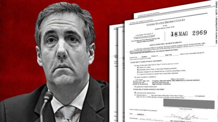 READ: Newly released Michael Cohen court documents