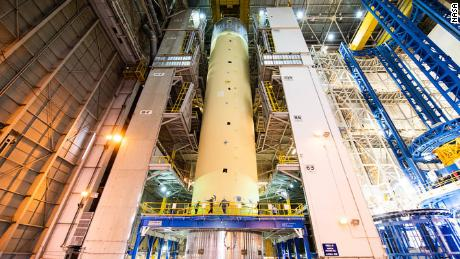 Boeing is building the core components of NASA's Space Launch System rocket.