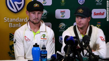 "Smith and Bancroft faced the media after the close of play on March 24 2018, admitting to ball-tampering during the third Test in Cape Town. Bancroft said: ""I was in the wrong place at the wrong time. I want to be here (in the press conference) because I want to be accountable for my actions."""