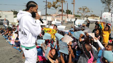 Barack Obama pens letter in tribute to Nipsey Hussle