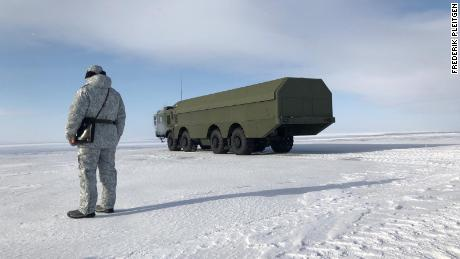 Inside the military base at the heart of Putin's Arctic ambitions