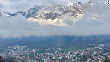 The town of Uri in Indian controlled Kashmir, close to the Line of Control (LoC), the de facto border that divides this disputed region between India and Pakistan.